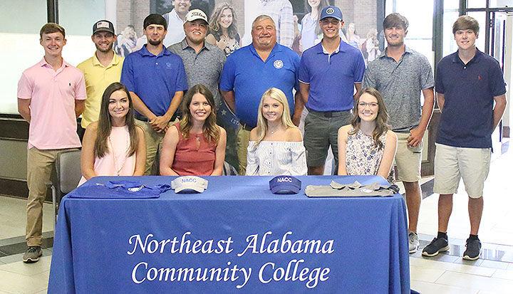 NACC golf teams