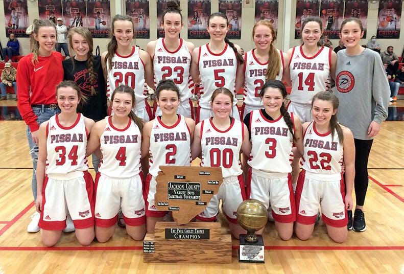 Pisgah wins varsity girls county championship