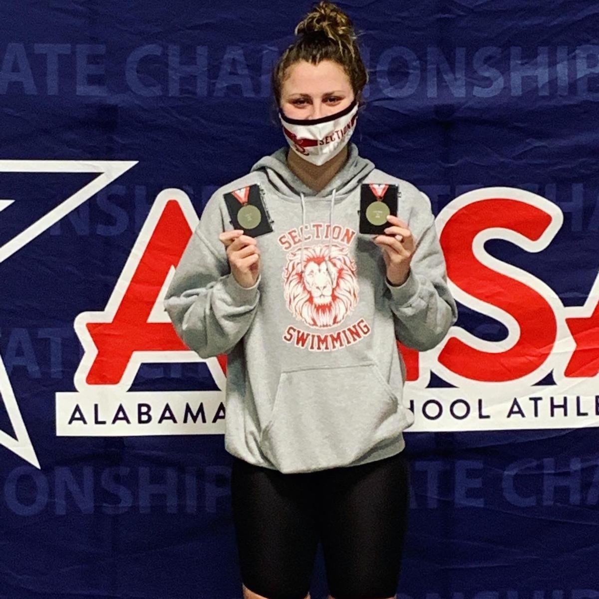 MAggie Ella Robbins state champ