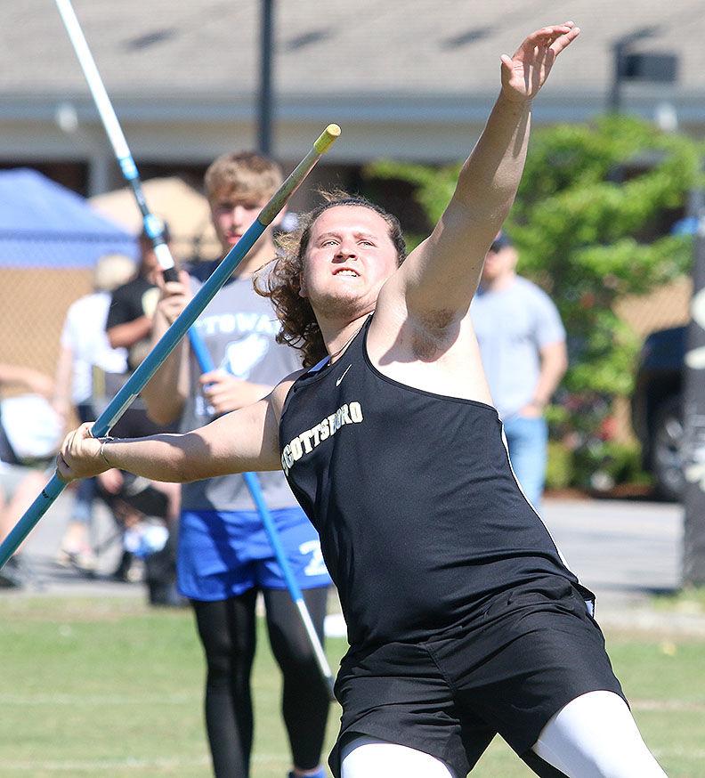 Javelin winner