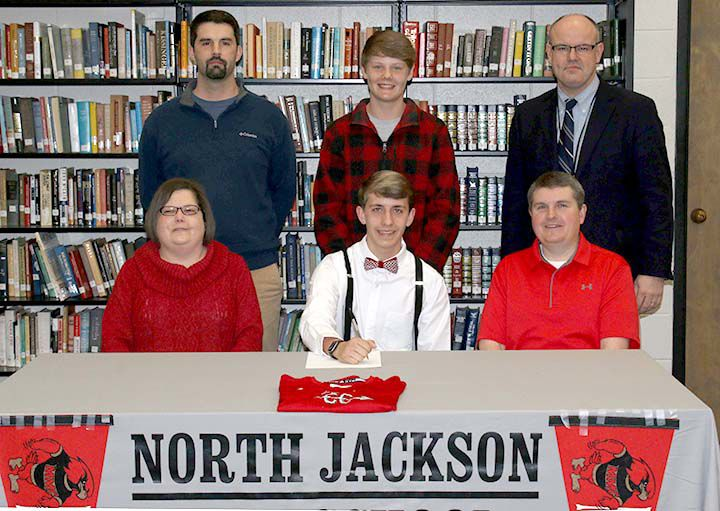 Guess signs with Martin Methodist