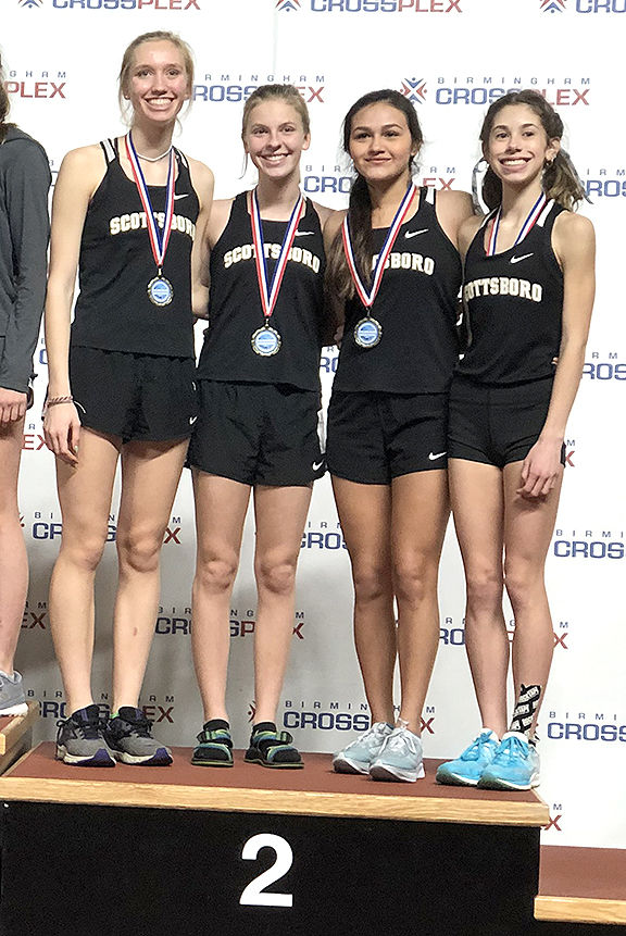 Scottsboro 4x800 girls