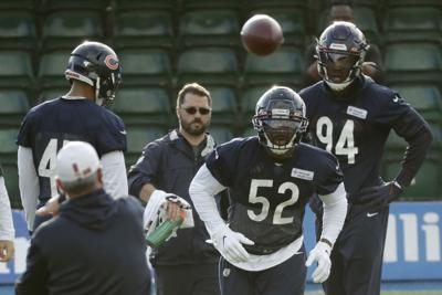 Bears Raiders Football