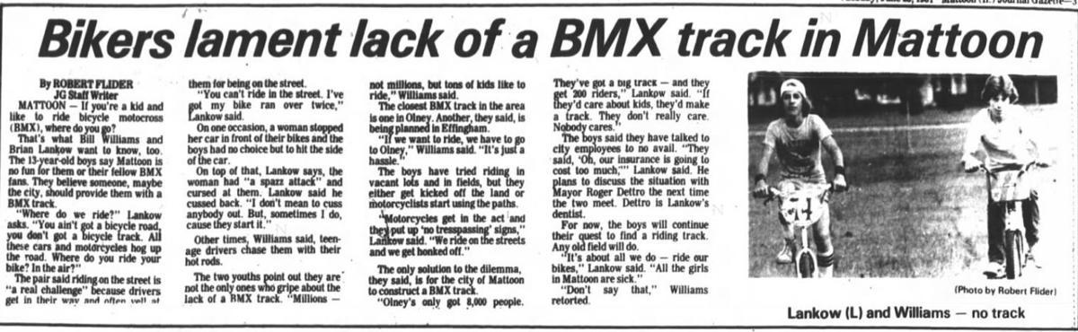 BMX tracks
