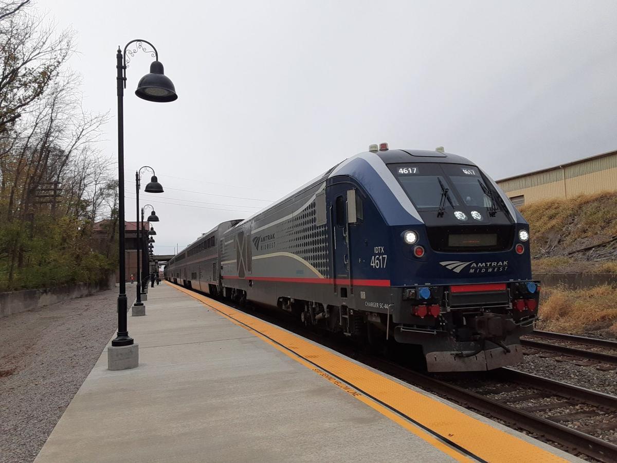 Amtrak engine