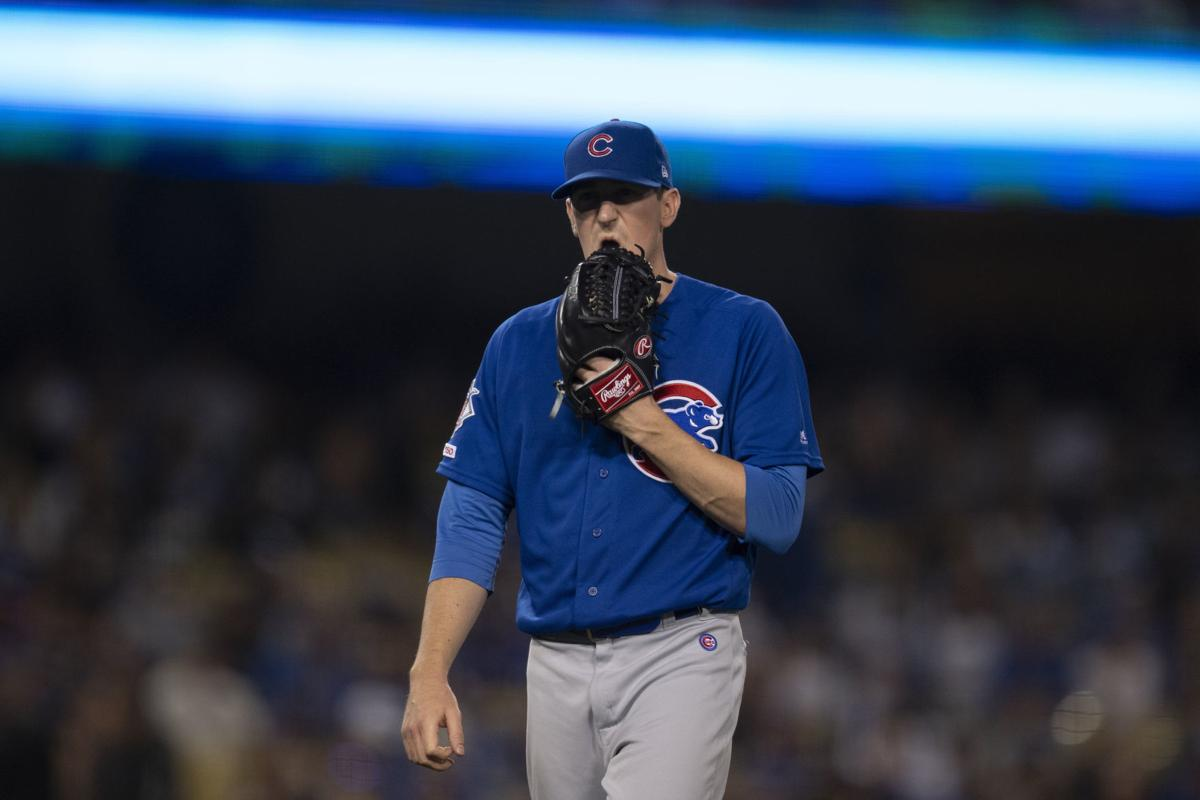 Cubs Dodgers Baseball