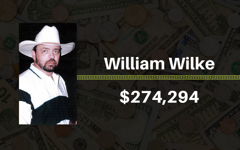 William Wilke, $274,294
