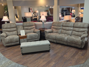 Find comfortable living room seating options at Wright's Furniture & Flooring!