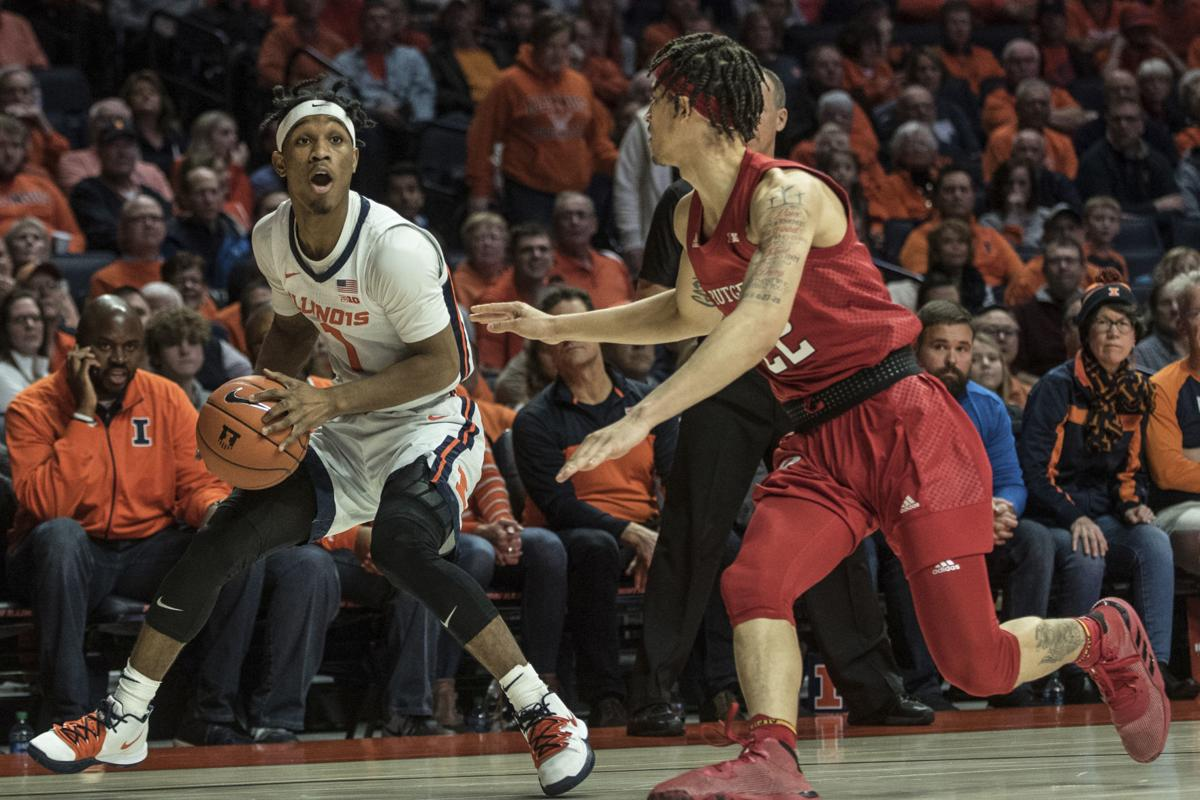 Rutgers Illinois Basketball