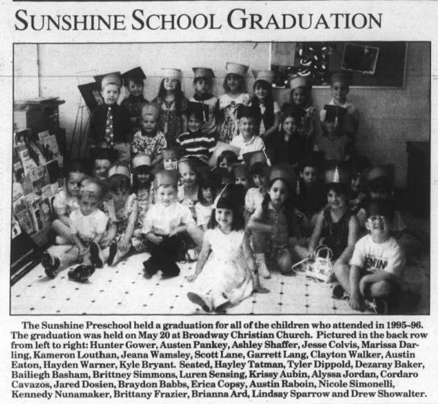 Pre School Graduation