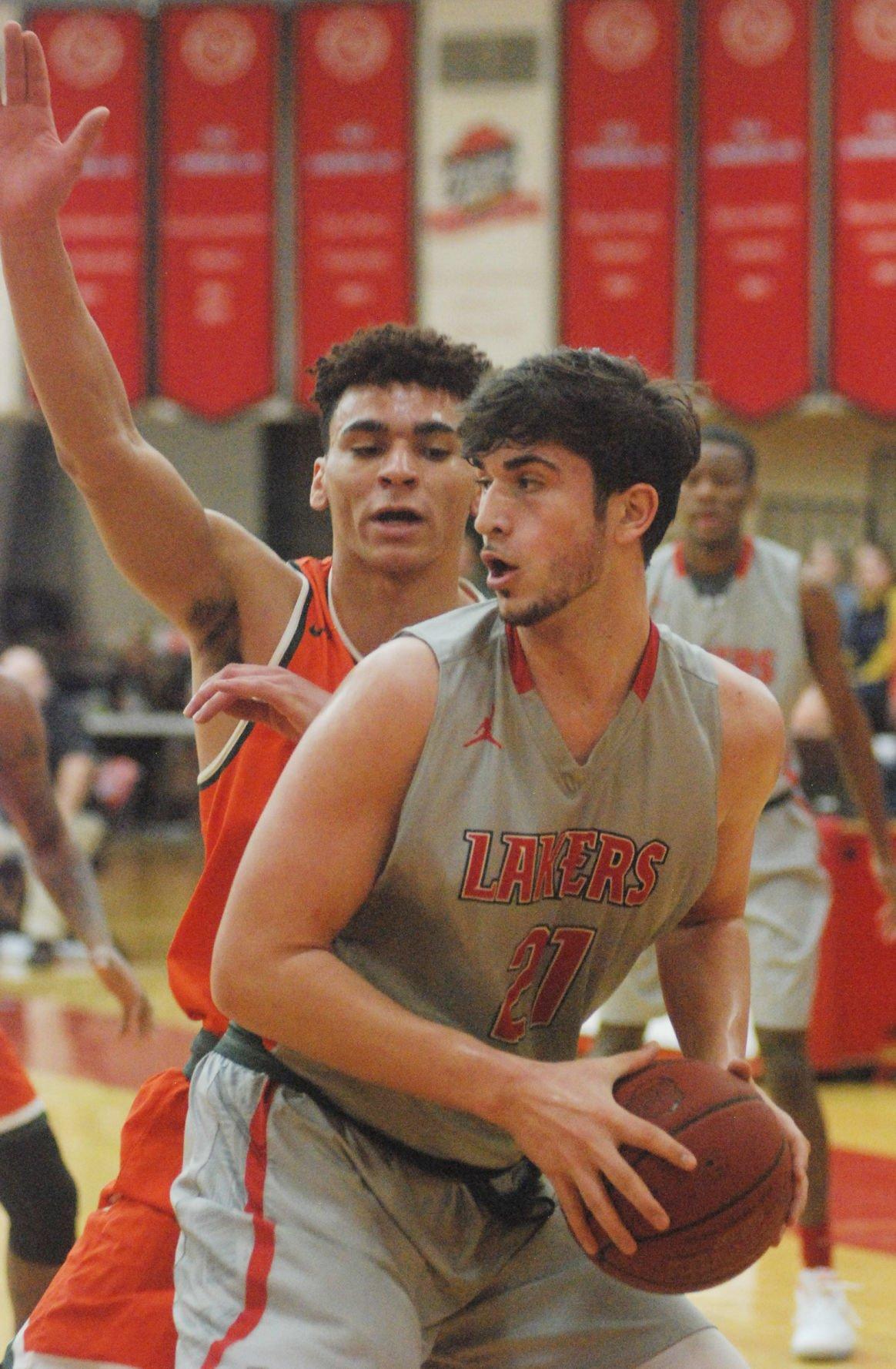 Lake Land Mens' Basketball 030418