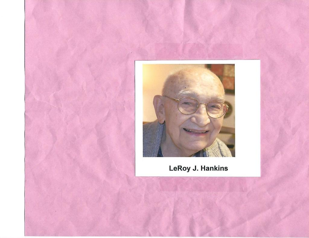 LeRoy Hankins | Obituaries | jg-tc com