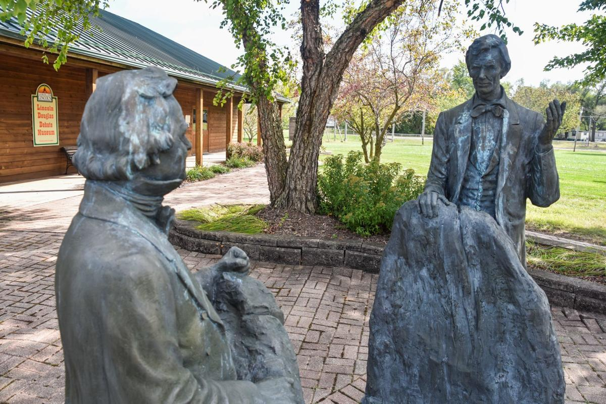Lincoln-Douglas Debate Museum donation