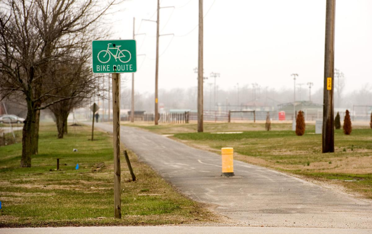 Bike Route Sign 03/28/18