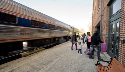 Mattoon Depot - Amtrak 04/12/17