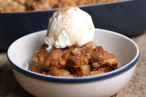 This Sugar Cookie Apple Crisp Will Be Your New Go-To Dessert