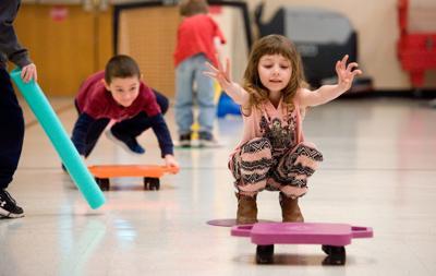 Mark Twain Elementary School - Winter Olympics Curling 02/16/18