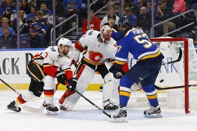 Flames Blues Hockey