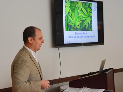 Recreational marijuana presentation