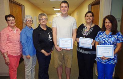 PCH volunteers announce scholarship winners   Announcements   jg-tc com