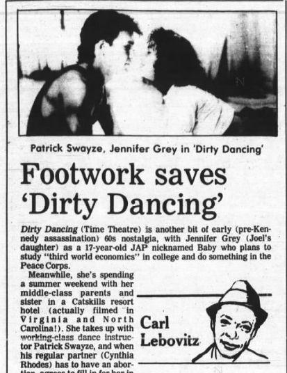 Dirty dancing Review