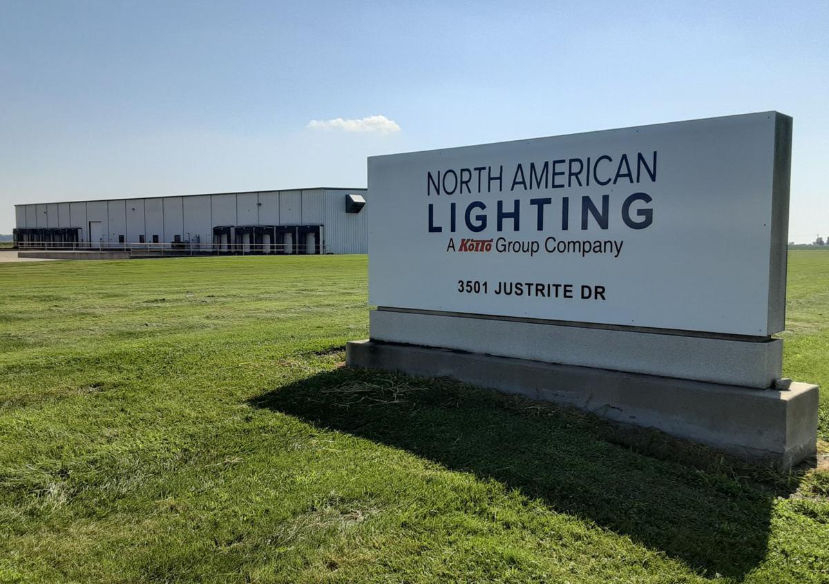 North American Lighting sign