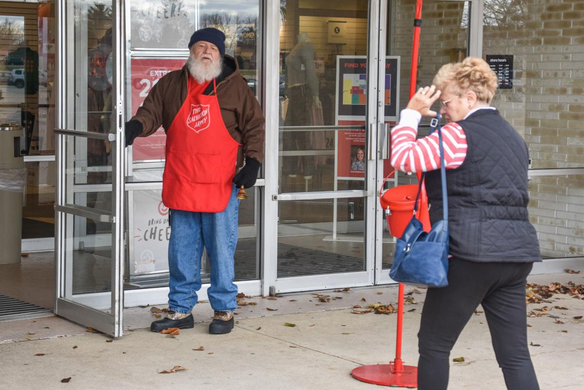 Salvation Army bell ringers