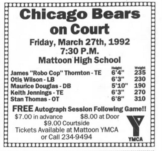 Bears on Court