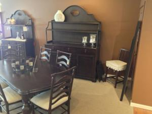 Wright's Furniture & Flooring also carries beautiful wooden dining options you won't want to miss out on!