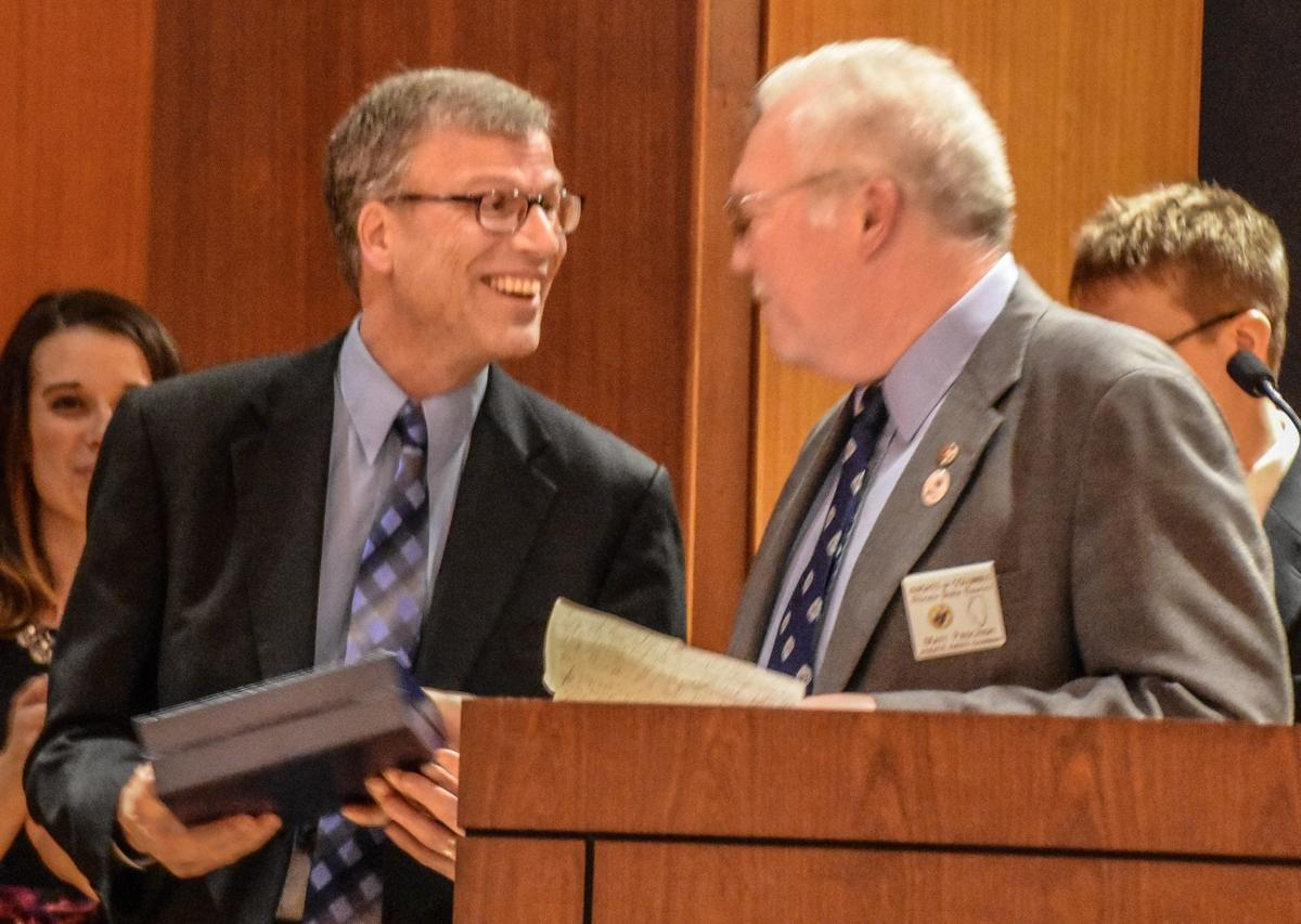 Roy Lanham chamber honor
