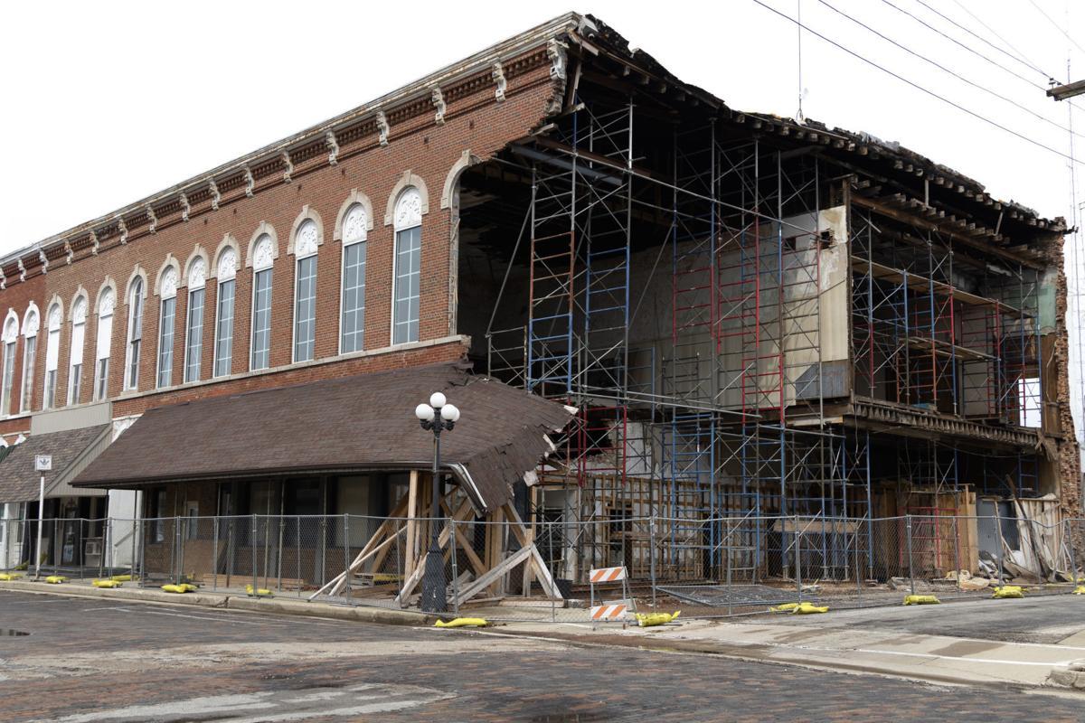 Arcola building collapse (03/20/19)