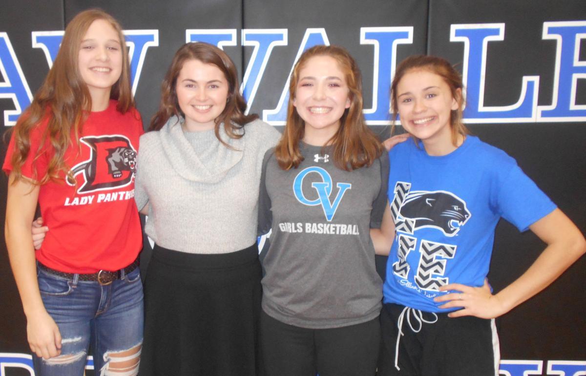 Okaw Valley girls' basketball