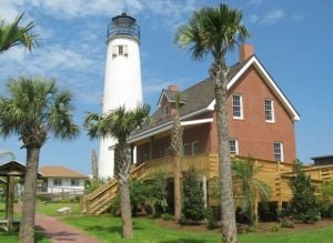 St. George Island, Fla. offers great beaches, lighthouse, local seafood