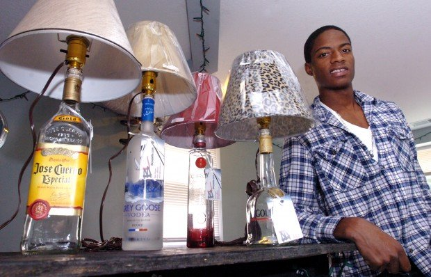 EIU Students See Business Potential In Liquor Bottle Lamps