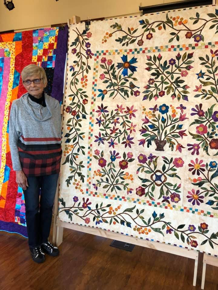 Libby Fox quilt