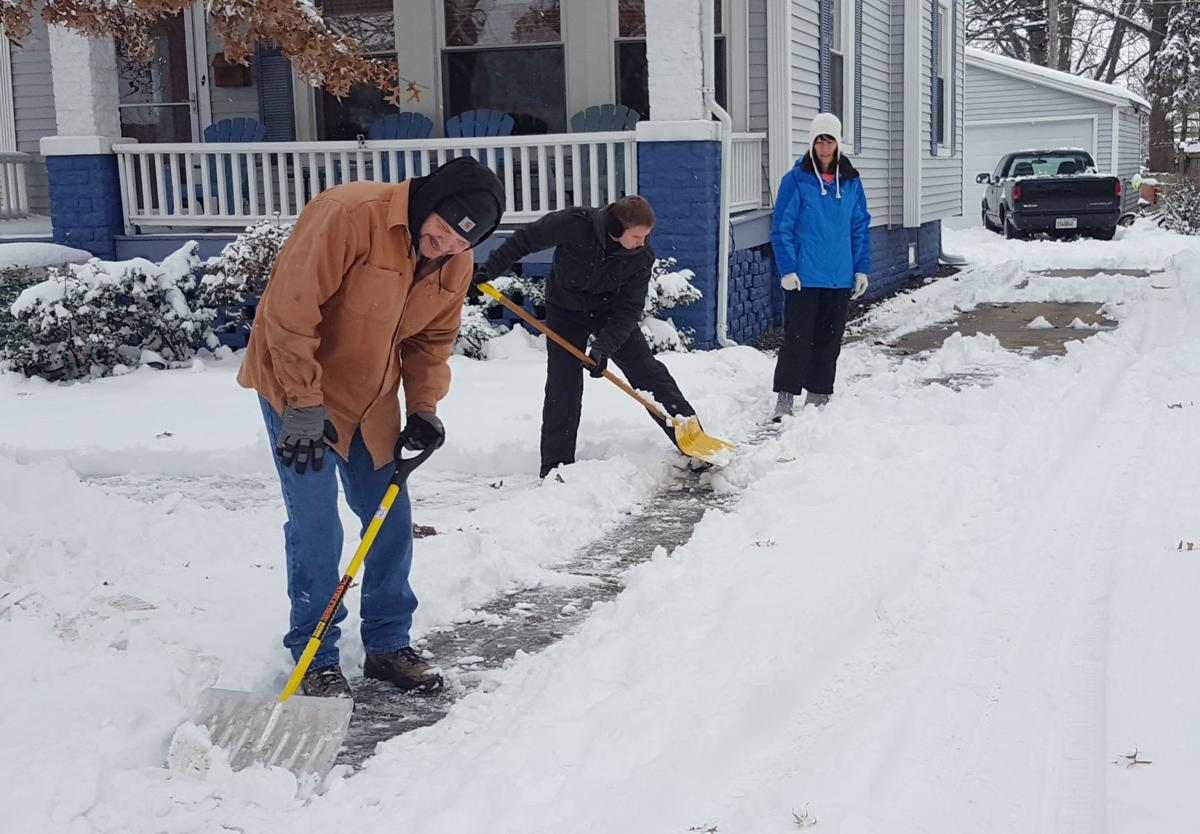 Show shoveling