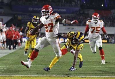 Browns Kareem Hunt Football