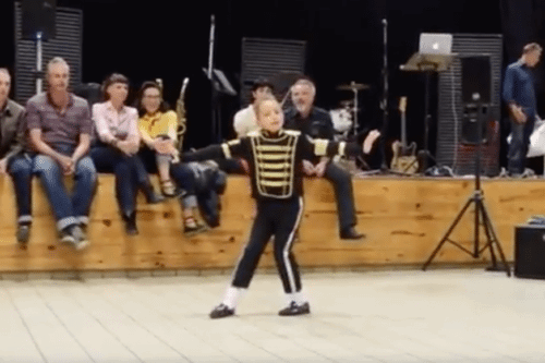 Michael Jackson's Dance Moves No Problem For Boy At School Talent Show
