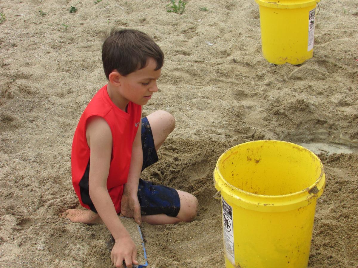 Sand castle building (copy)