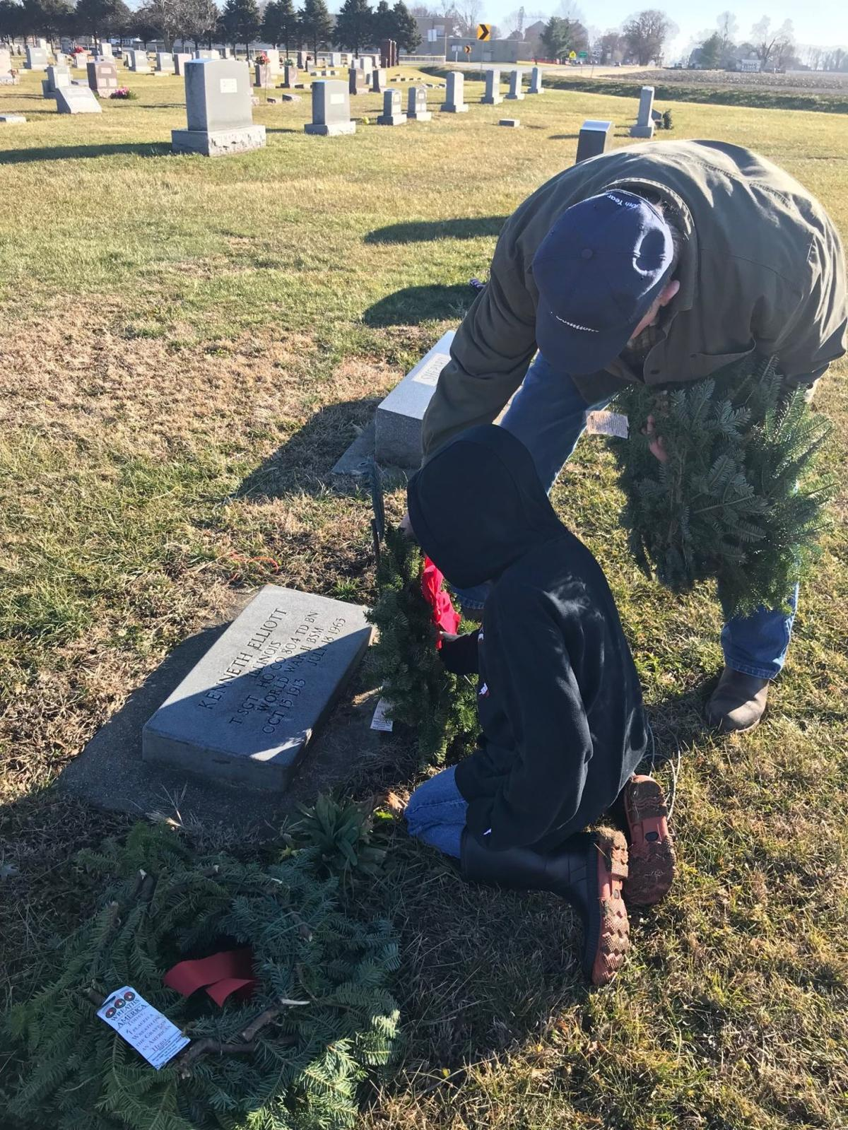 Wreaths, Veterans