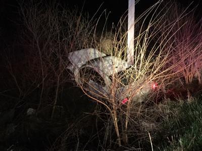 car crash East County Road 250 North
