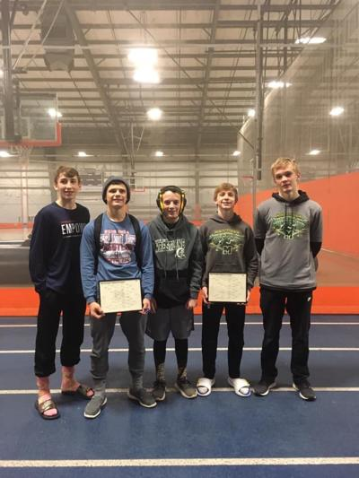 Mattoon Green Wave state wrestlers