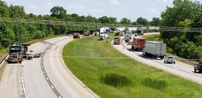 Accident blocks traffic on I-57 near Mattoon