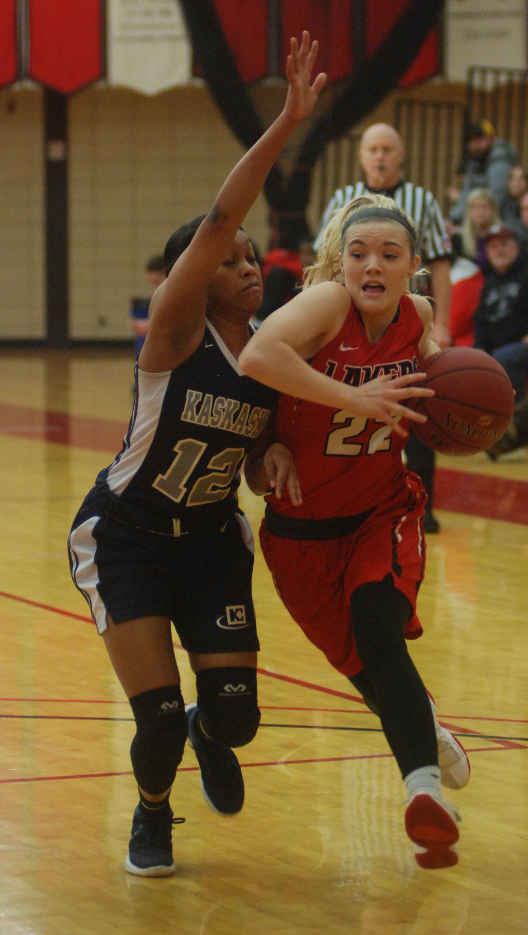 Lake Land women's basketball 2/7/18