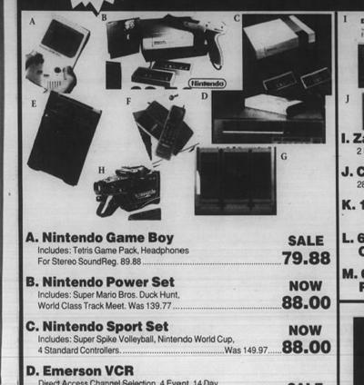 Nintendo, Wal-Mart ad