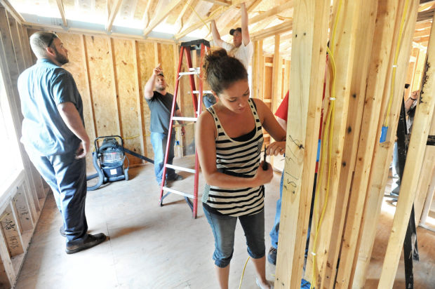 llc house wiring students put skills to work for habitat local wiring a house codes lake land wiring class 05 08 13