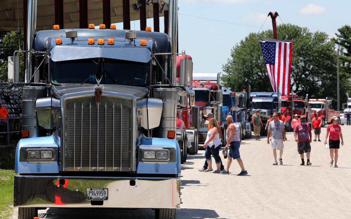 Coles County Truck Convoy