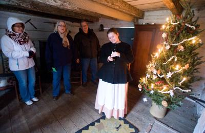 Lincoln Log Cabin Christmas event