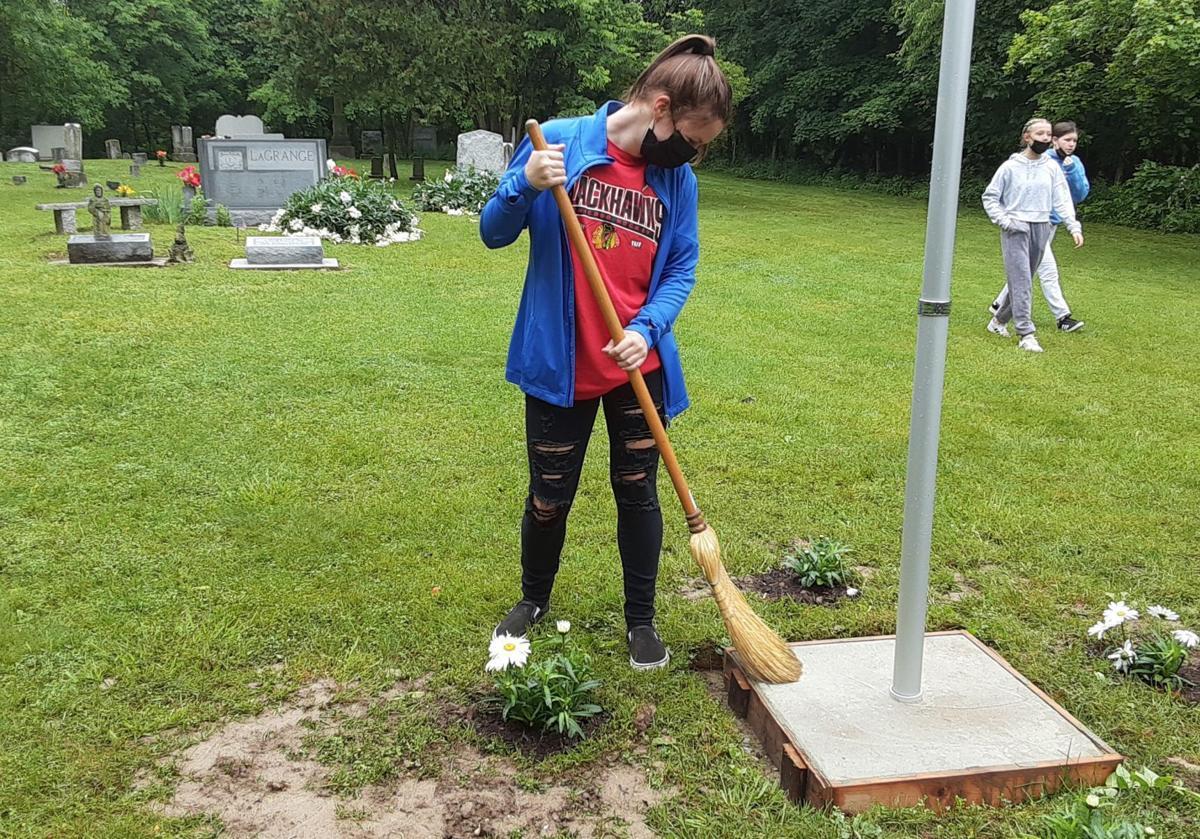 Cemetery sweep