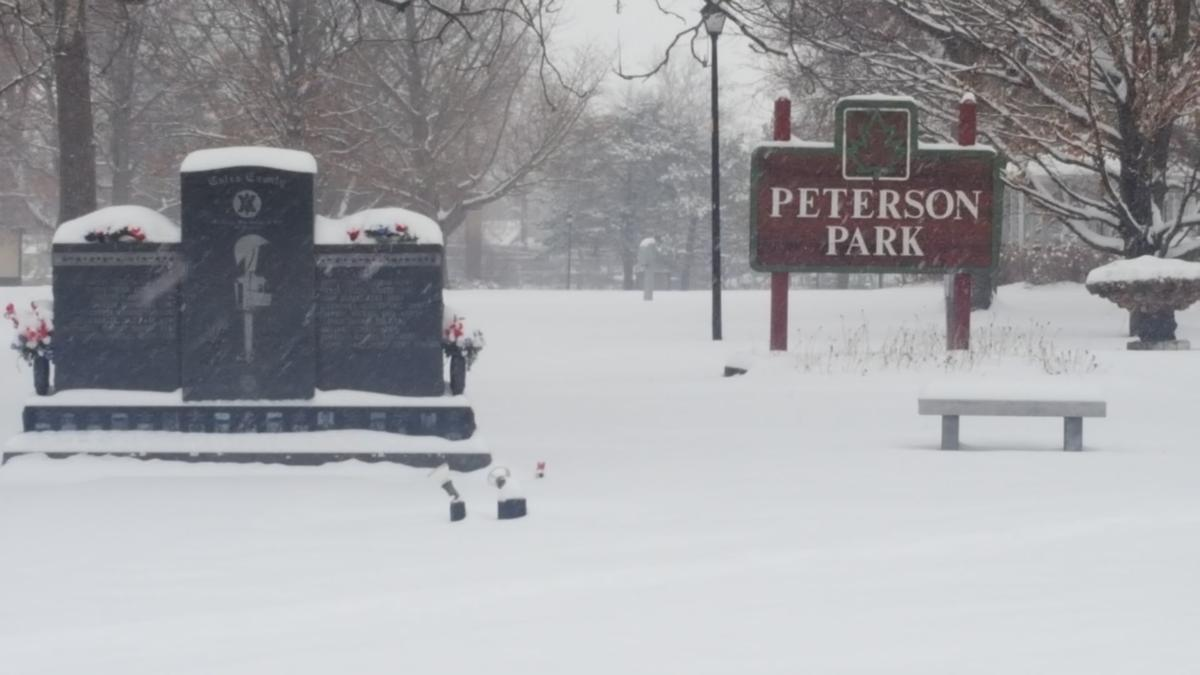 Mattoon, Charleston area gets blanketed by snow